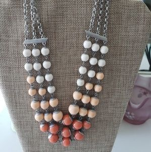 NEW ☆ Lia Sophia Bead Necklace,  CUTE!